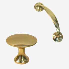 Polished Brass Handles & Knobs
